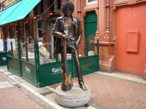statues of dublin phil lynott